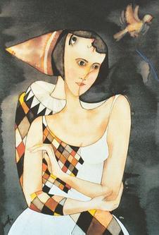Luciano Moral - Harlekin und Tänzerin